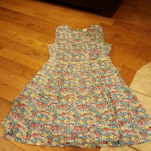 matilda jane womens brown floral dress size 10 new